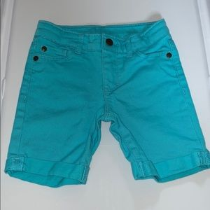 Girls Arizona Teal Shorts
